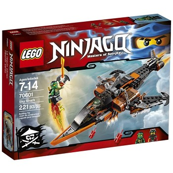 LEGO Ninjago Sets: 70601 Sky Shark NEW