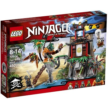 LEGO Ninjago Sets: 70604 Tiger Widow Island NEW