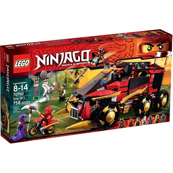 LEGO Ninjago Sets: 70750 Ninja DB X NEW