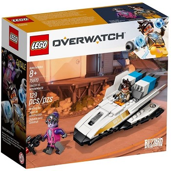 LEGO Overwatch Sets: 75970 Tracer vs. Widowmaker NEW
