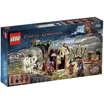LEGO Pirates of the Caribbean Sets: 4182 The Cannibal Escape NEW