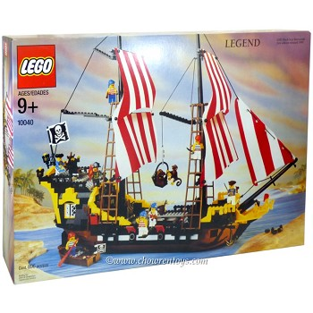 LEGO Pirates Sets: 10040 Black Seas Barracuda NEW