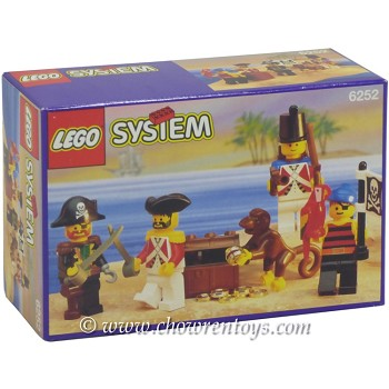 LEGO Pirates Sets: 6252 Sea Mates NEW