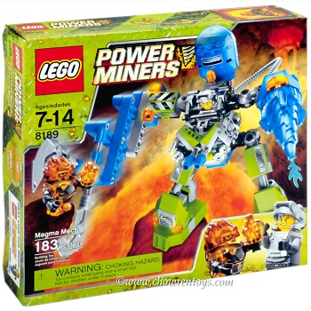 LEGO Power Miners Sets: 8189 Magma Mech NEW