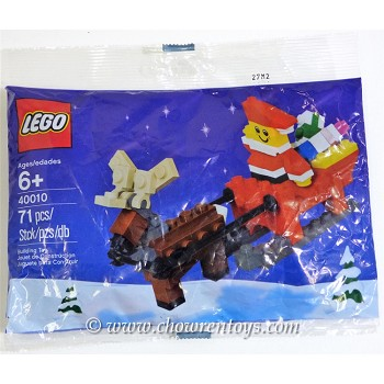 LEGO Seasonal Sets: Holiday 40010 Father Christmas with Sledge Building Set NEW