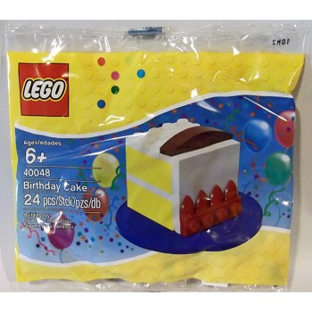 LEGO Seasonal Sets: 40048 Birthday Cake NEW