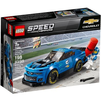 LEGO Speed Champions Sets: 75891 Chevrolet Camaro ZL1 Race Car NEW