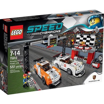 LEGO Speed Champions Sets: 75912 Porsche 911 GT Finish Line NEW
