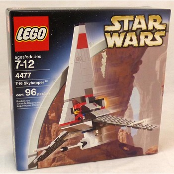 LEGO Star Wars Sets: Classic 4477 T-16 Skyhopper NEW *Damaged Box* @R