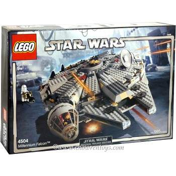 LEGO Star Wars Sets: Classic 4504 Millennium Falcon NEW