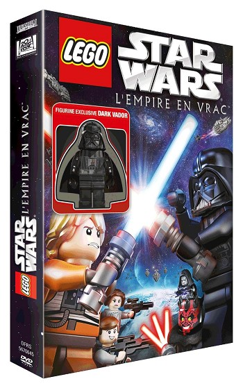 LEGO Movie: Star Wars - The Empire Strikes Out DVD NEW