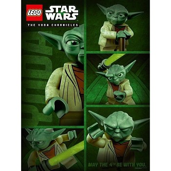 LEGO Star Wars Sets: 5002505 May the 4th Be With You Poster NEW