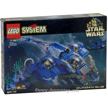LEGO Star Wars Sets: Episode I 7161 Gungan Sub NEW
