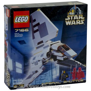 LEGO Star Wars Sets: Classic 7166 Imperial Shuttle NEW