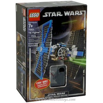 LEGO Star Wars Sets: Classic 7263 TIE Fighter NEW