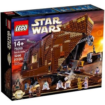 LEGO Star Wars Sets: Ultimate Collector Series 75059 Sandcrawler NEW