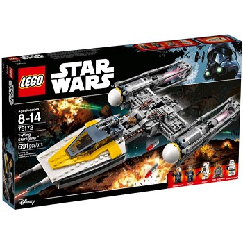 LEGO Star Wars Sets: 75172 Y-wing Starfighter NEW