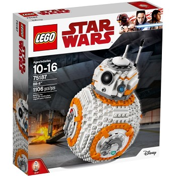 LEGO Star Wars Sets: 75187 BB-8 NEW