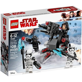 LEGO Star Wars Sets: 75197 First Order Specialists Battle Pack NEW *Damaged Box*