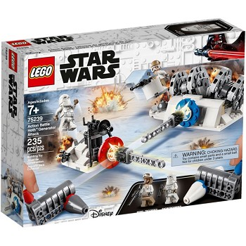 LEGO Star Wars Sets:  v Action Battle Hoth Generator Attack NEW