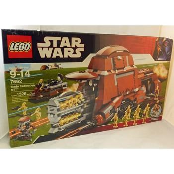 LEGO Star Wars Sets: Episode I 7662 Trade Federation MTT NEW *Failed Seals,  Damage*@R
