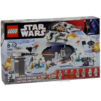 LEGO Star Wars Sets: Classic 7666 Hoth Rebel Base NEW