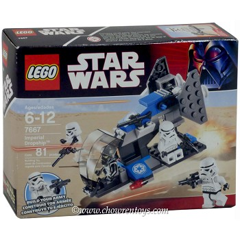 LEGO Star Wars Sets: Classic 7667 Imperial Dropship NEW