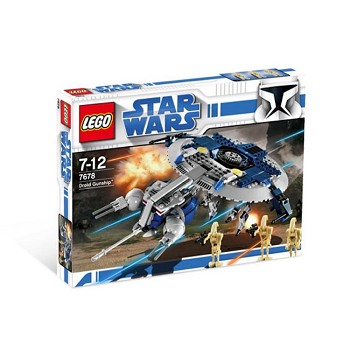 LEGO Star Wars Sets: Clone Wars 7678 Droid Gunship NEW