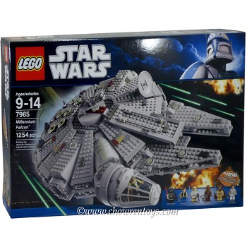 LEGO Star Wars Sets: Classic 7965 Millennium Falcon NEW *Damaged Box*
