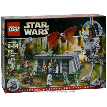 LEGO Star Wars Sets: Classic 8038 The Battle of Endor NEW