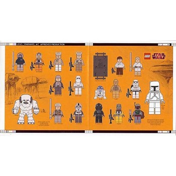 LEGO Star Wars Sets: Classic gstk117 Limited Edition Sticker sheet NEW
