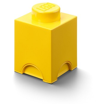 LEGO Storage: 40010632 1-stud Brick Bright Yellow NEW