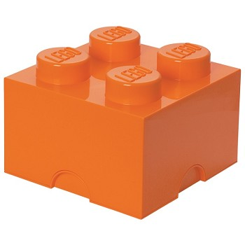 LEGO Storage: 40030660 4-stud Brick Bright Orange NEW