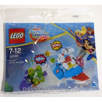 LEGO Super Hero Girls Sets: DC Comics 30546 Krypto Saves the Day NEW