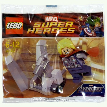 LEGO Super Heroes Sets: Marvel 30163 Thor and the Cosmic Cube NEW