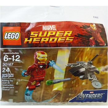 LEGO Super Heroes Sets: Marvel 30167 Iron Man vs Fighting Drone NEW