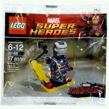LEGO Super Heroes Sets: Marvel 30168 Gun Mounting System NEW