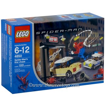 LEGO Super Heroes Sets: Marvel 4850 Spider-Man's First Chase NEW