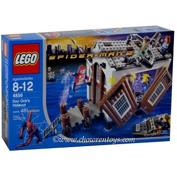 LEGO Super Heroes Sets: Marvel 4856 Doc Ock's Hideout NEW