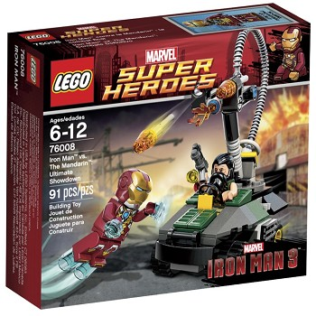 LEGO Super Heroes Sets: Marvel 76008 Iron Man vs. The Mandarin: Ultimate Showdown NEW