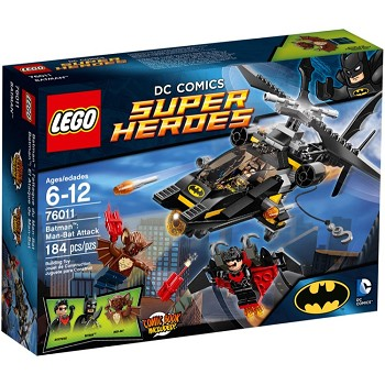 LEGO Super Heroes Sets: DC Comics 76011 Batman: Man-Bat Attack NEW