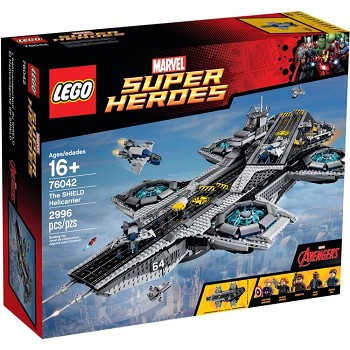 LEGO Super Heroes Sets: Marvel 76042 SHIELD Helicarrier NEW *Damaged Box*