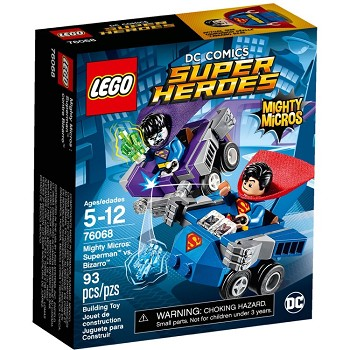 LEGO Super Heroes Sets: DC Comics 76068 Mighty Micros: Superman vs. Bizarro NEW