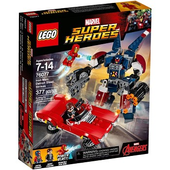 LEGO Super Heroes Sets: Marvel 76077 Iron Man: Detroit Steel Strikes NEW