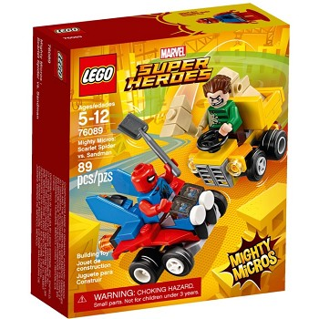 LEGO Super Heroes Sets: Marvel 76089 Mighty Micros: Scarlet Spider vs. Sandman NEW