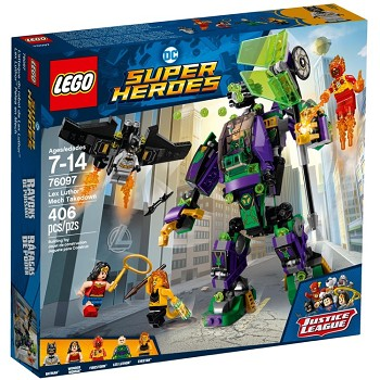 LEGO Super Heroes Sets: DC Comics 76097 Lex Luthor Mech Takedown NEW