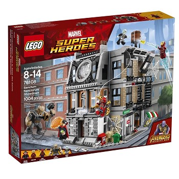 LEGO Super Heroes Sets: Marvel 76108 Sanctum Sanctorum Showdown NEW