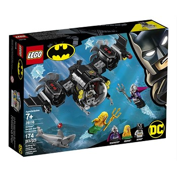 LEGO Super Heroes Sets: 76116 DC Comic Batman Batsub and the Underwater Clash NEW