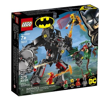 LEGO Super Heroes Sets: 76117 DC Comic Batman Mech vs. Poison Ivy Mech  NEW