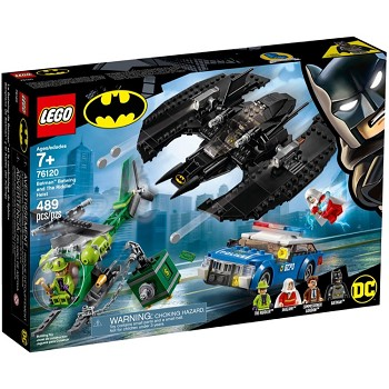 LEGO Super Heroes Sets: DC Comics 76120 Batman Batwing and The Riddler Heist NEW